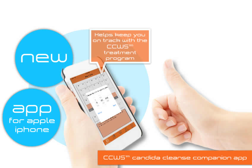 ccws candida cleanser treatment free app for iphone