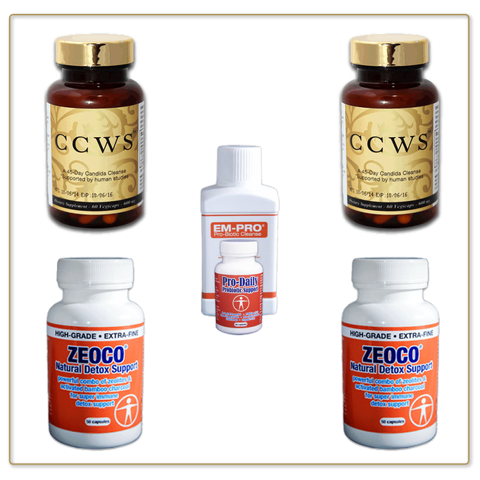 CCWS Candida Cleanse family Pack
