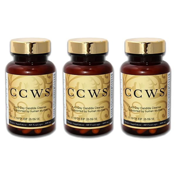 ccws candida cleanser triple pack