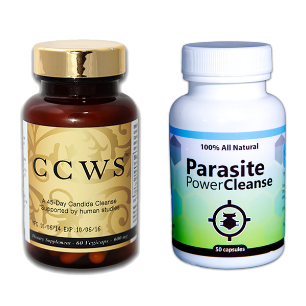 ccws candida cleanser & parasite cleanse pack