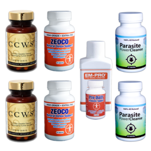 CCWS Family Package plus Parasite Cleanse