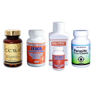 CCWS Full Package plus Parasite Cleanse