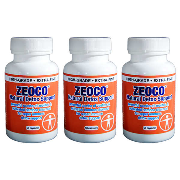 zeoco triple pack for candida die-off