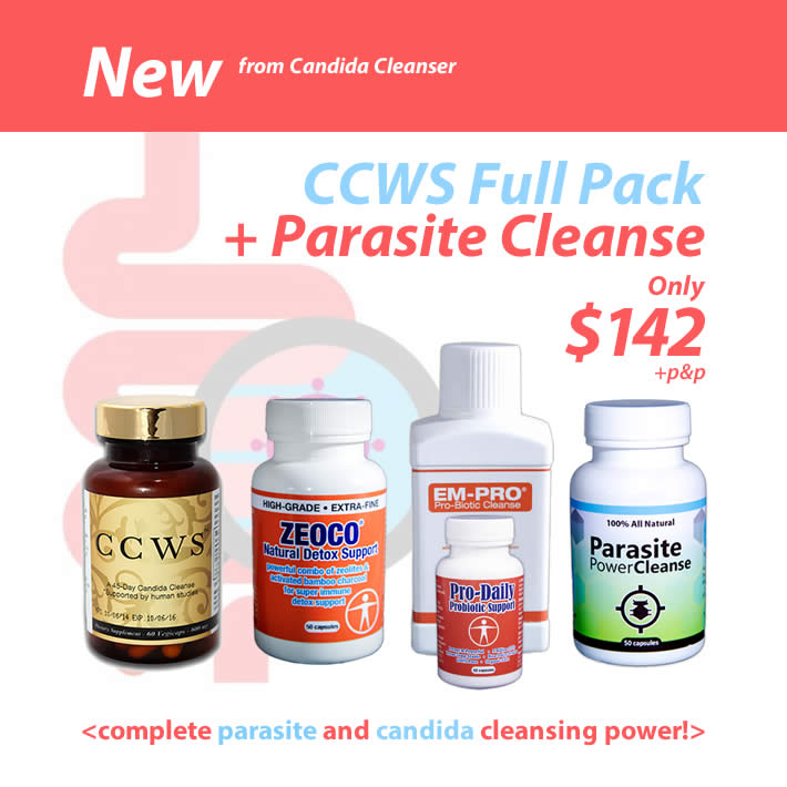 ccws candida cleanse with parasite power cleanse