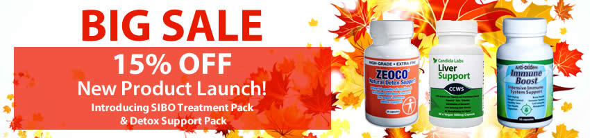 candida labs big sale banner